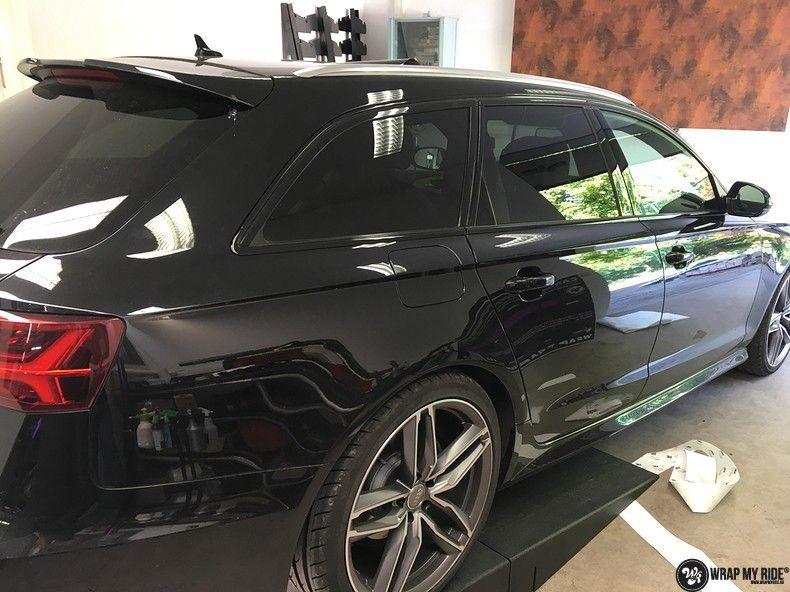 Audi A6 ontchromen, Carwrapping door Wrapmyride.nu Foto-nr:11327, ©2021