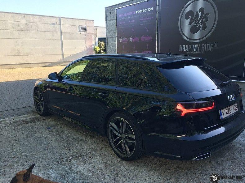Audi A6 ontchromen, Carwrapping door Wrapmyride.nu Foto-nr:11328, ©2020
