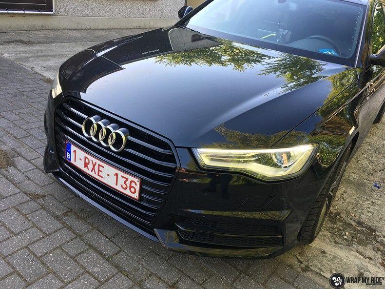Audi A6 ontchromen, Carwrapping door Wrapmyride.nu Foto-nr:11323, ©2020
