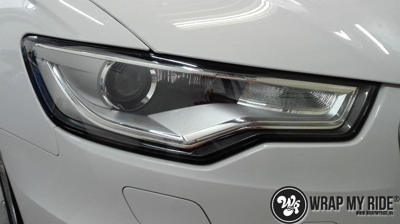 Audi A6 Station mat zwart, Carwrapping door Wrapmyride.nu Foto-nr:8176, ©2021