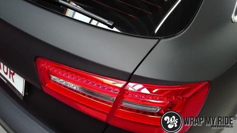 Audi A6 Station mat zwart, Carwrapping door Wrapmyride.nu Foto-nr:8183, ©2021