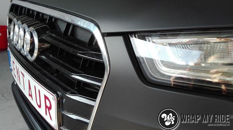 Audi A6 Station mat zwart, Carwrapping door Wrapmyride.nu Foto-nr:8190, ©2021