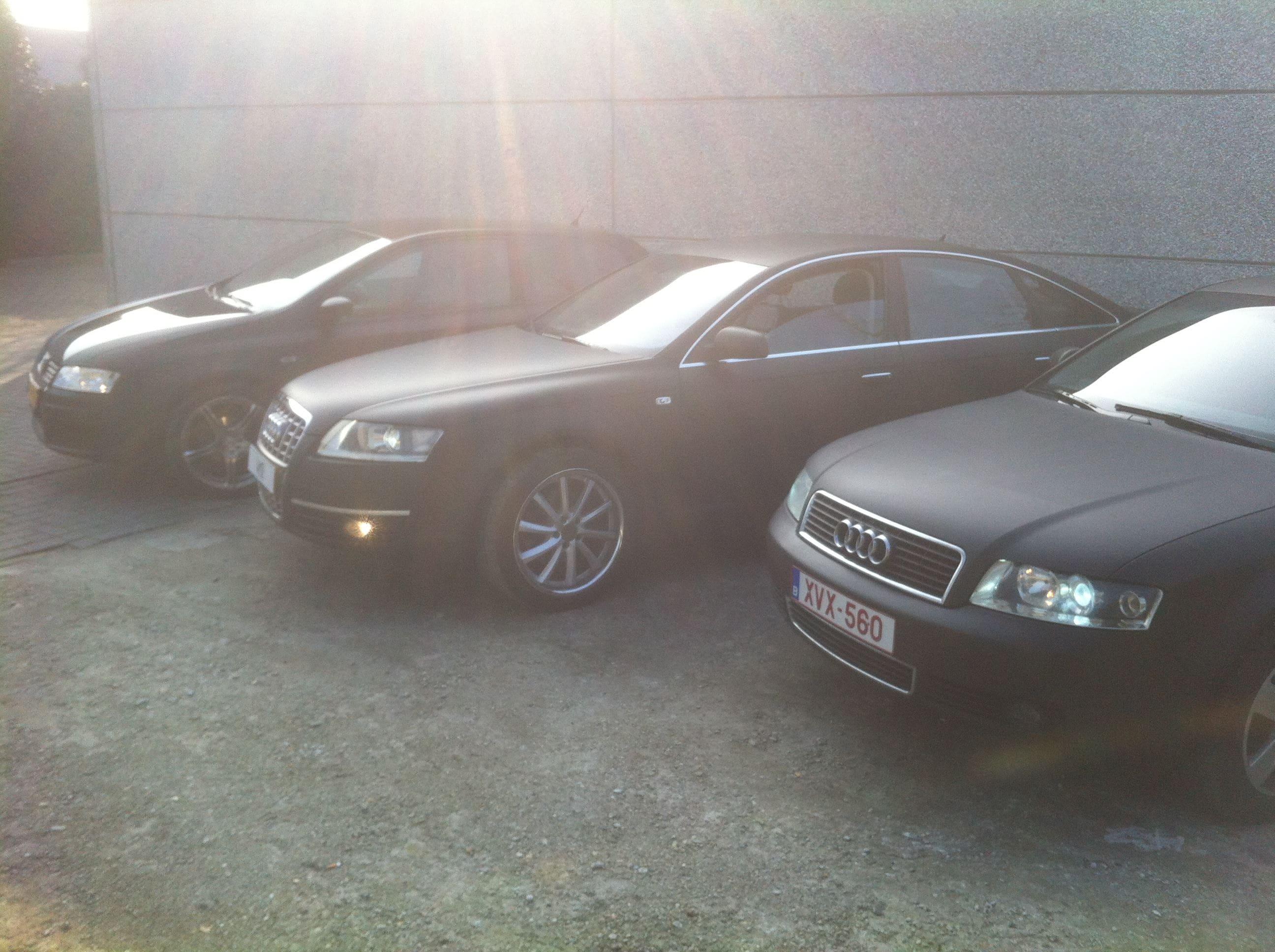 Audi A6 van Wit naar Mat Zwart, Carwrapping door Wrapmyride.nu Foto-nr:4812, ©2021