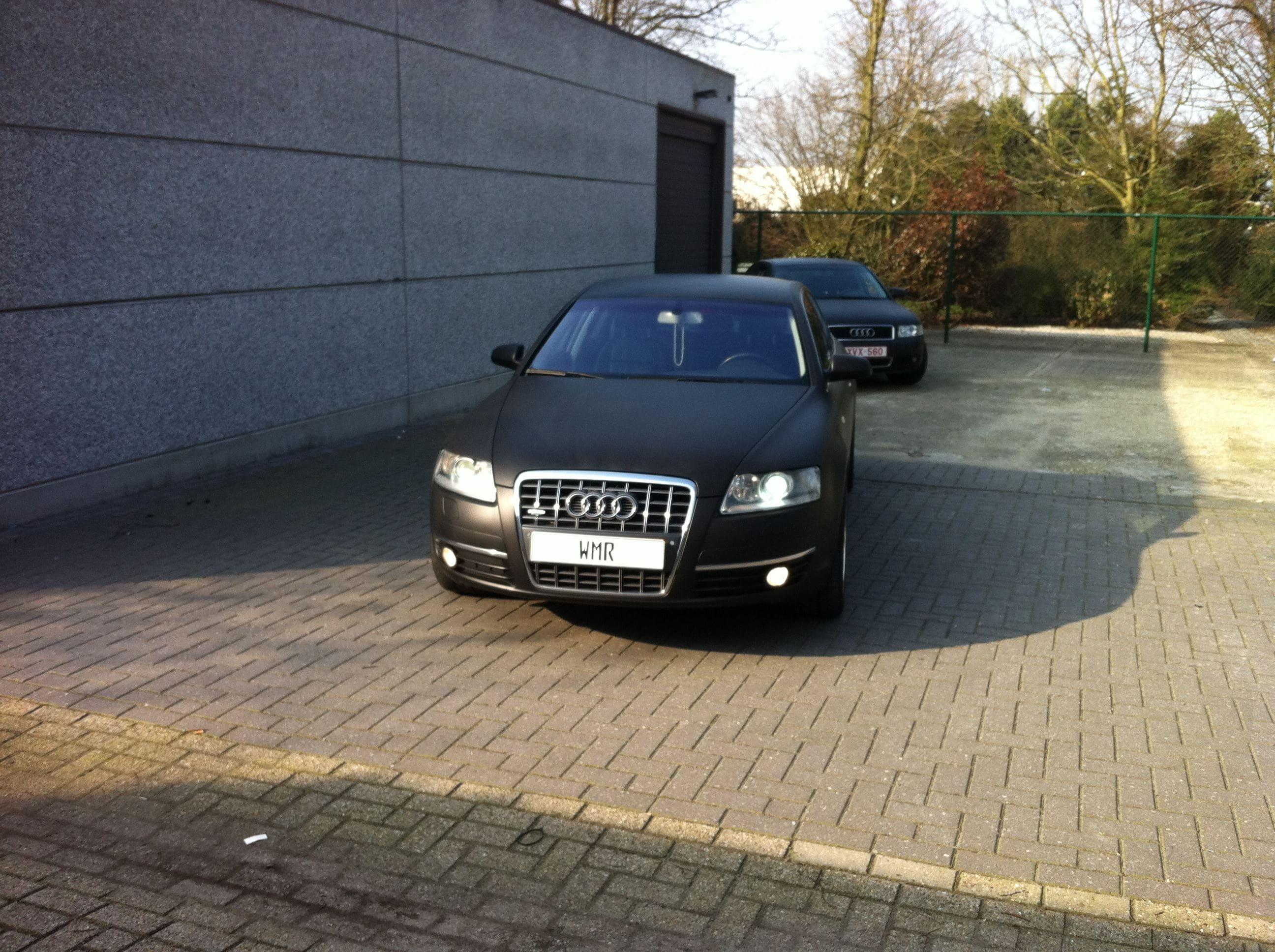 Audi A6 van Wit naar Mat Zwart, Carwrapping door Wrapmyride.nu Foto-nr:4818, ©2021