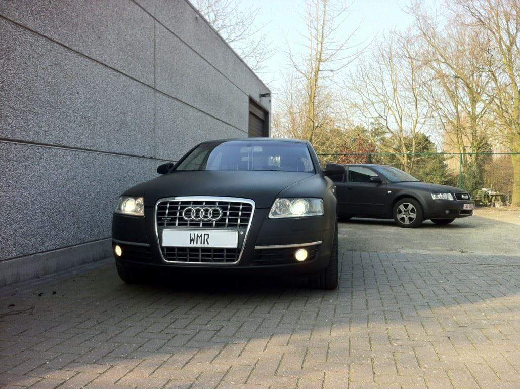 Audi A6 van Wit naar Mat Zwart, Carwrapping door Wrapmyride.nu Foto-nr:4828, ©2021