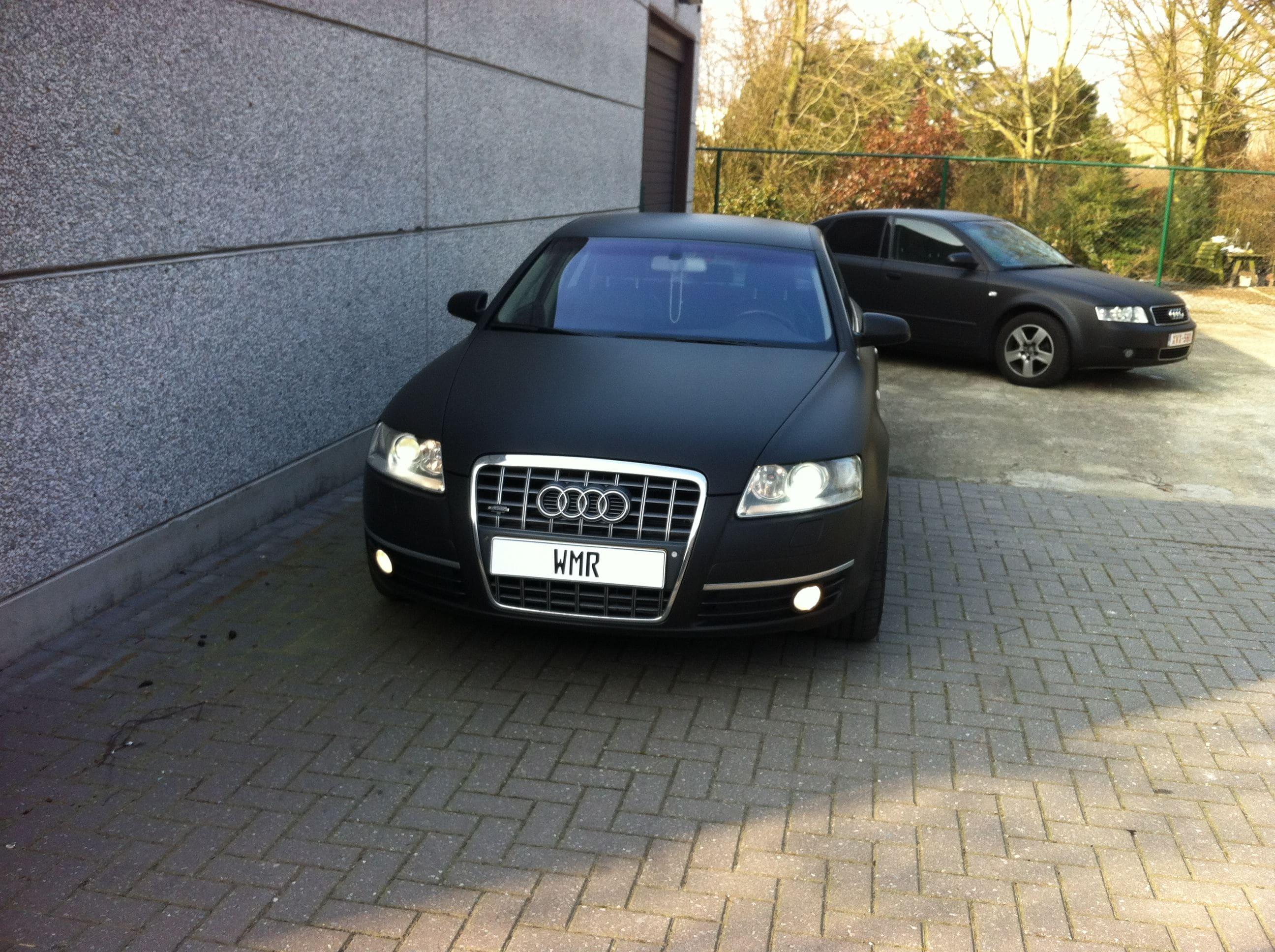 Audi A6 van Wit naar Mat Zwart, Carwrapping door Wrapmyride.nu Foto-nr:4829, ©2021