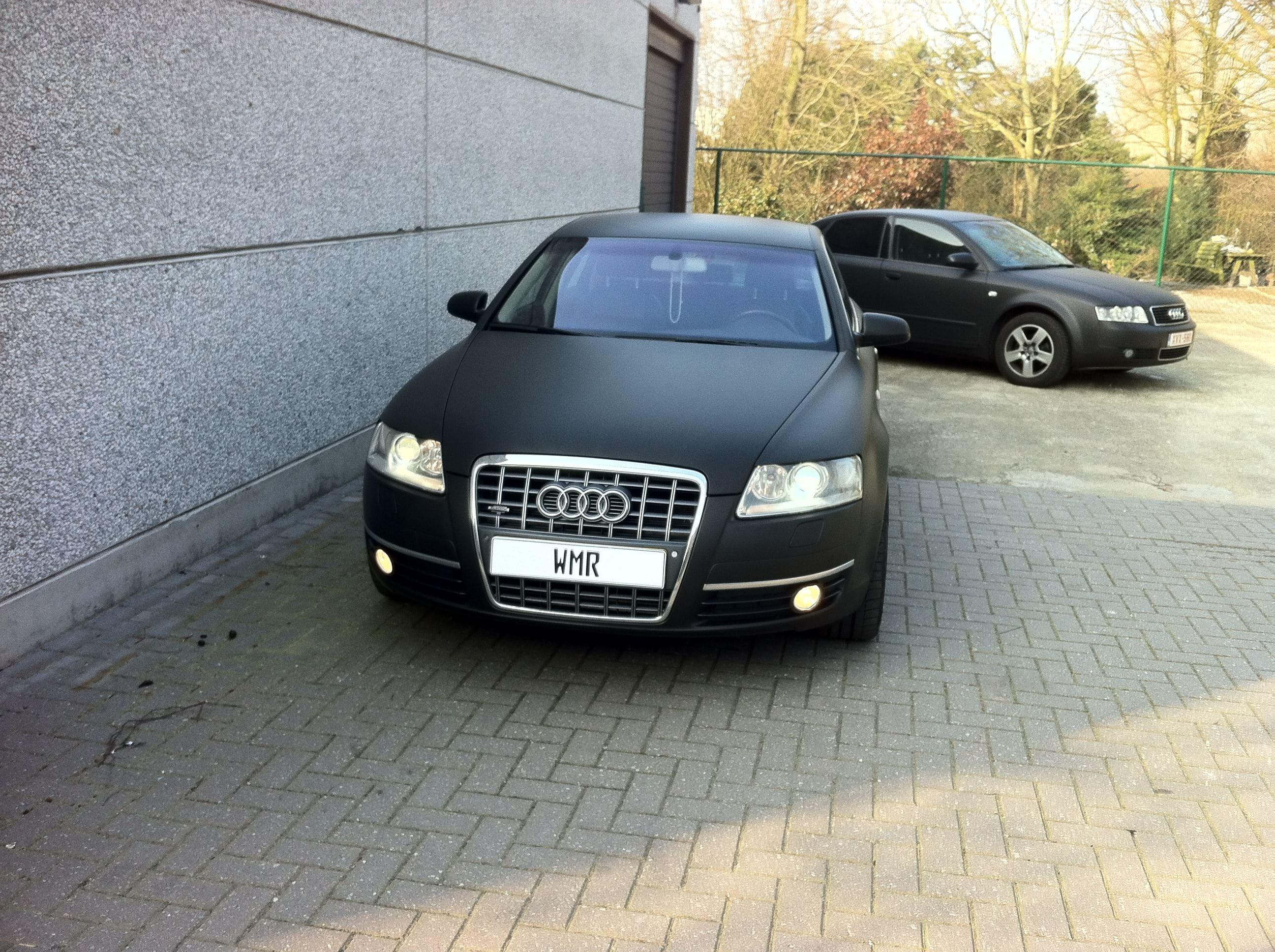 Audi A6 van Wit naar Mat Zwart, Carwrapping door Wrapmyride.nu Foto-nr:4830, ©2021
