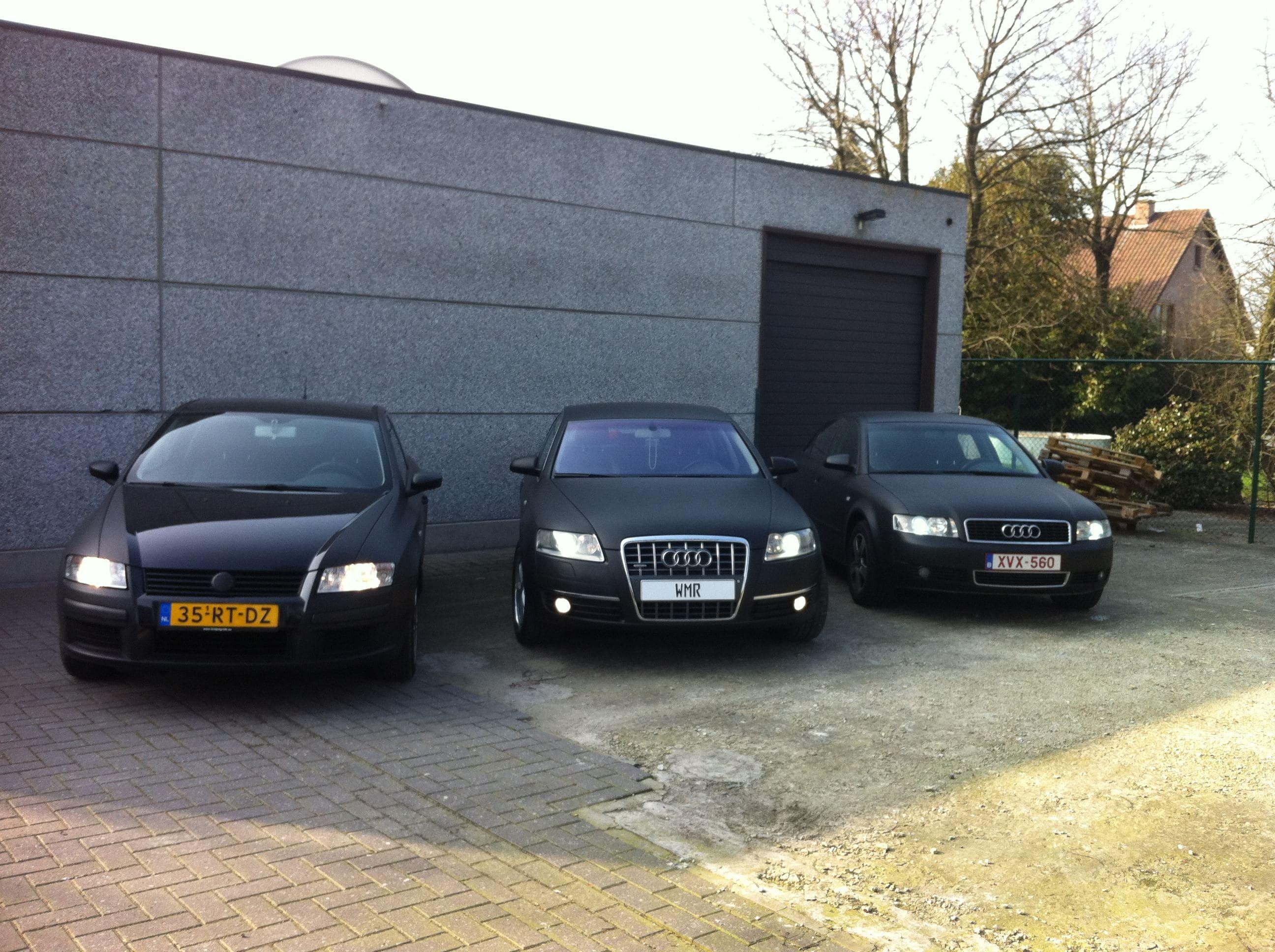 Audi A6 van Wit naar Mat Zwart, Carwrapping door Wrapmyride.nu Foto-nr:4831, ©2021