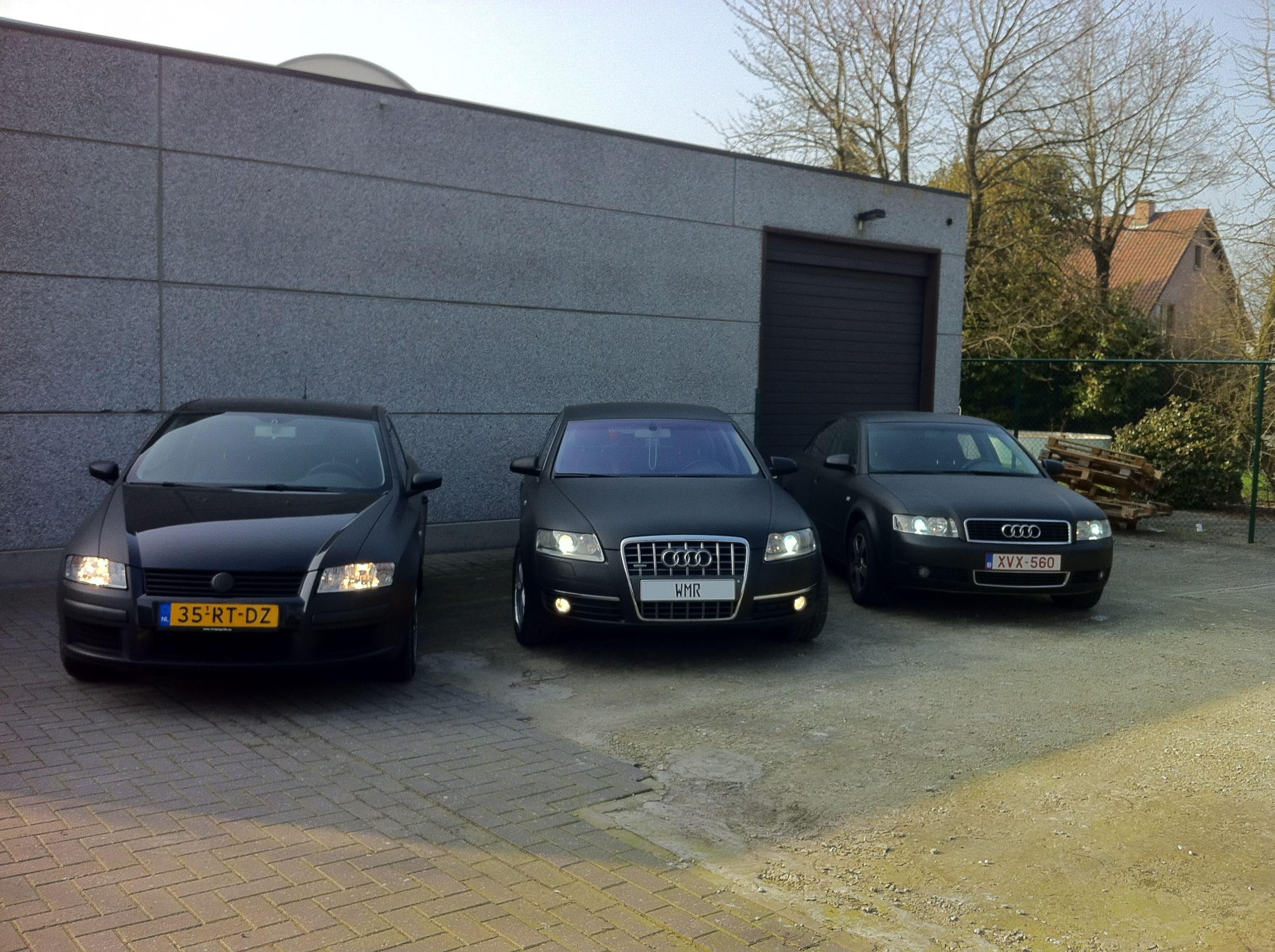 Audi A6 van Wit naar Mat Zwart, Carwrapping door Wrapmyride.nu Foto-nr:4832, ©2021