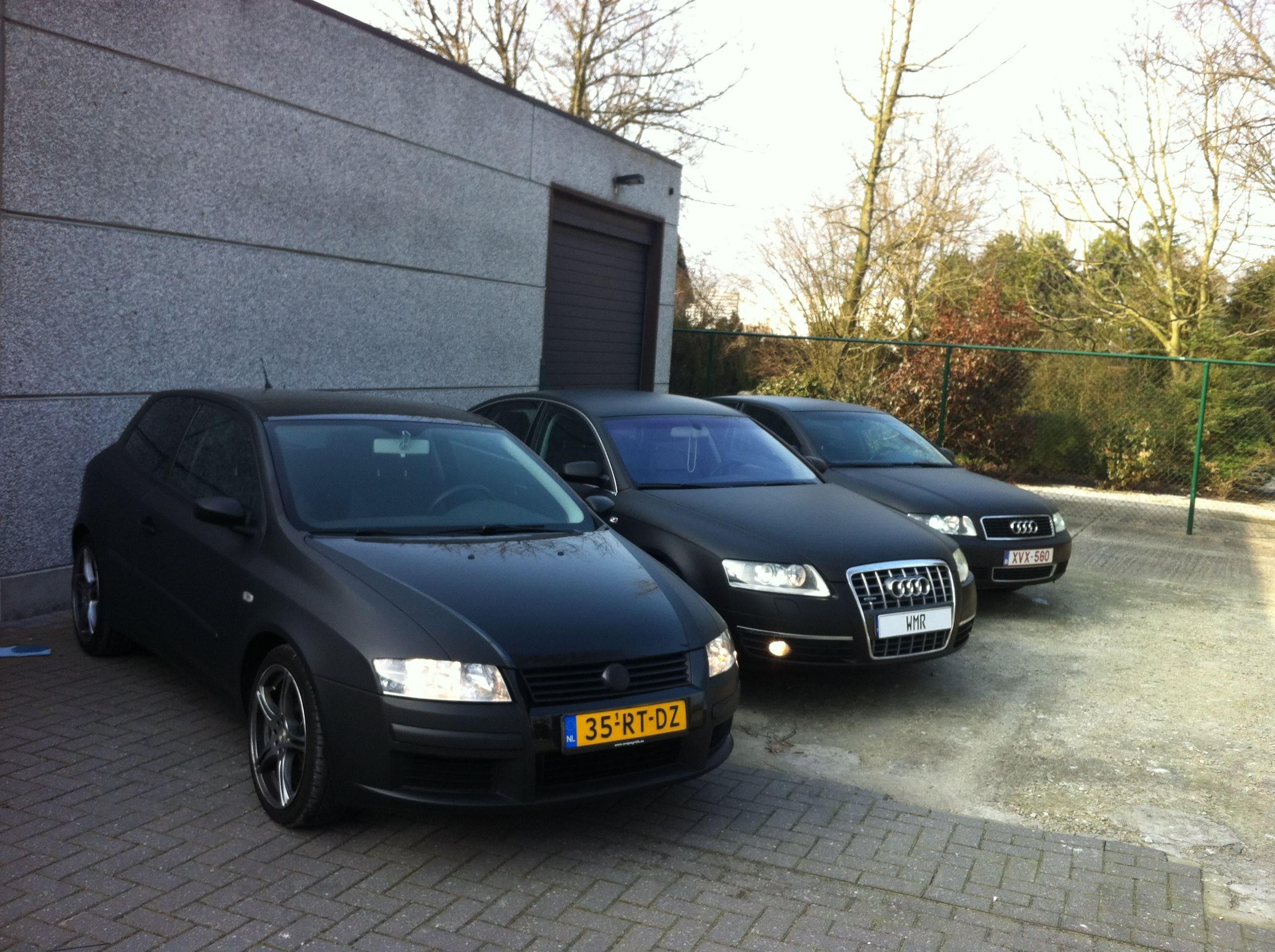 Audi A6 van Wit naar Mat Zwart, Carwrapping door Wrapmyride.nu Foto-nr:4833, ©2021