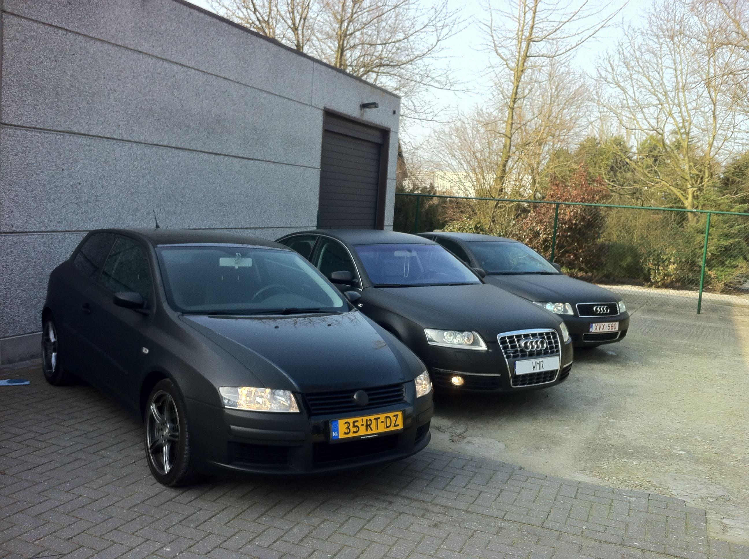 Audi A6 van Wit naar Mat Zwart, Carwrapping door Wrapmyride.nu Foto-nr:4834, ©2021