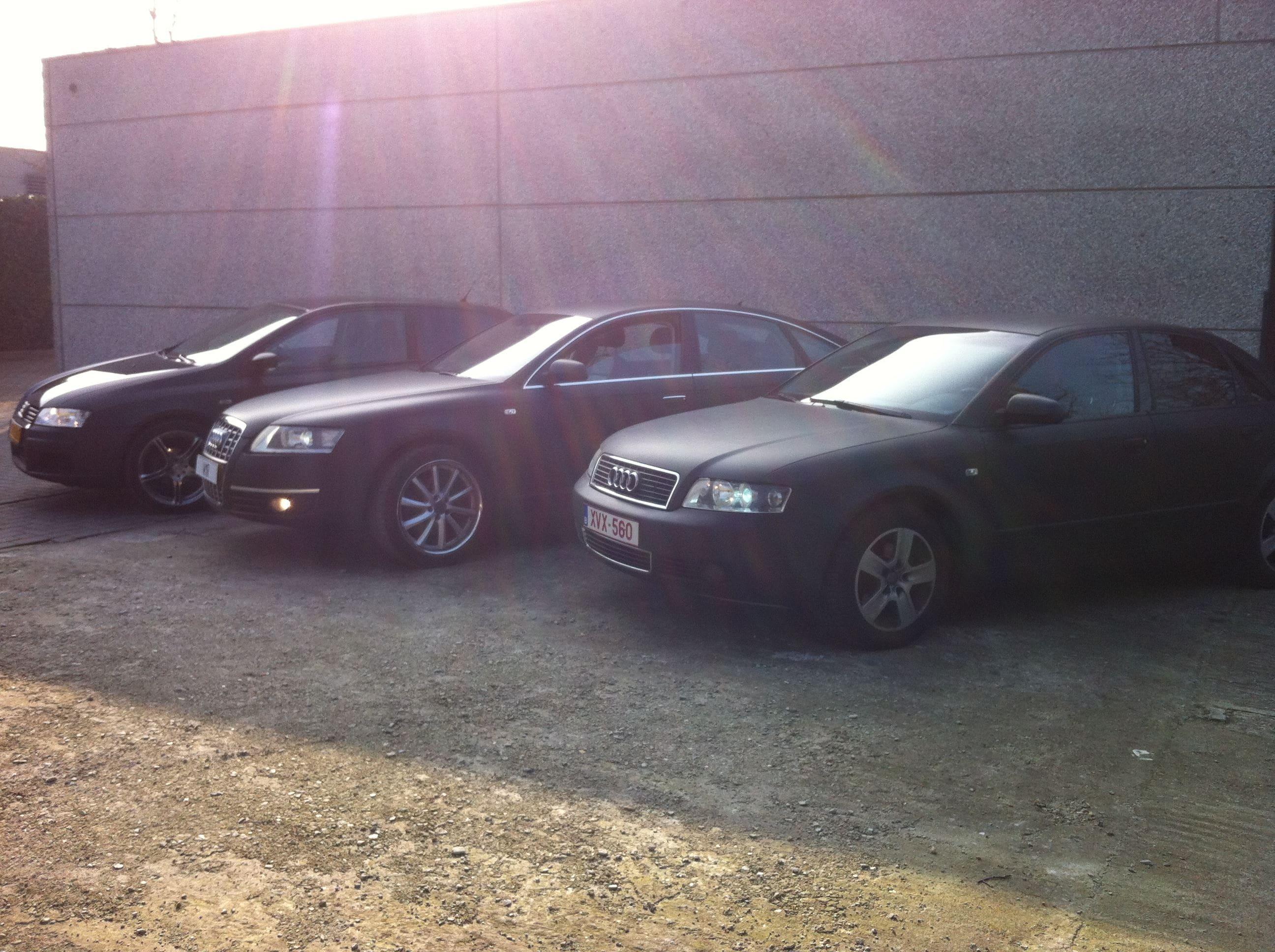Audi A6 van Wit naar Mat Zwart, Carwrapping door Wrapmyride.nu Foto-nr:4835, ©2021