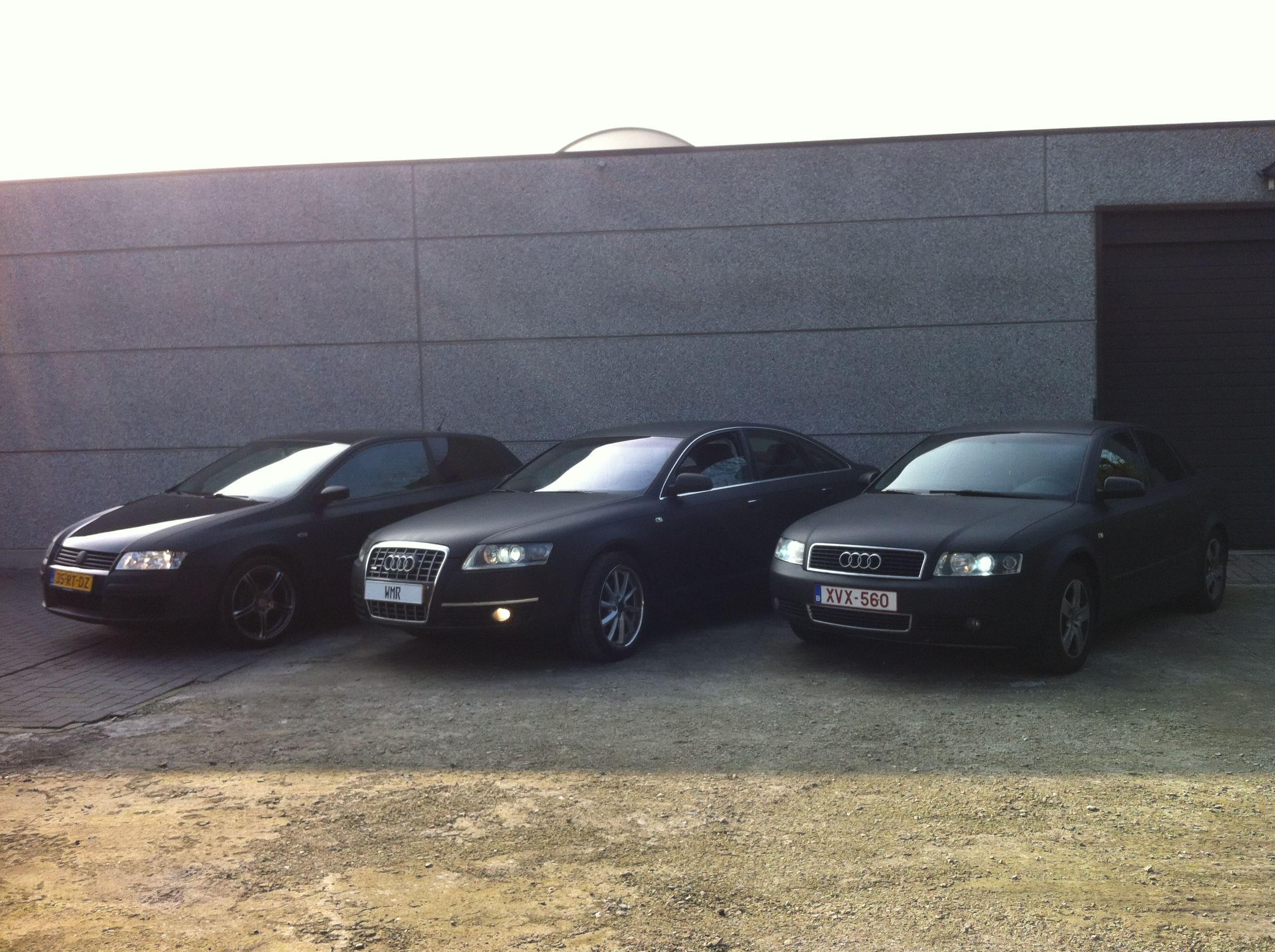 Audi A6 van Wit naar Mat Zwart, Carwrapping door Wrapmyride.nu Foto-nr:4837, ©2021