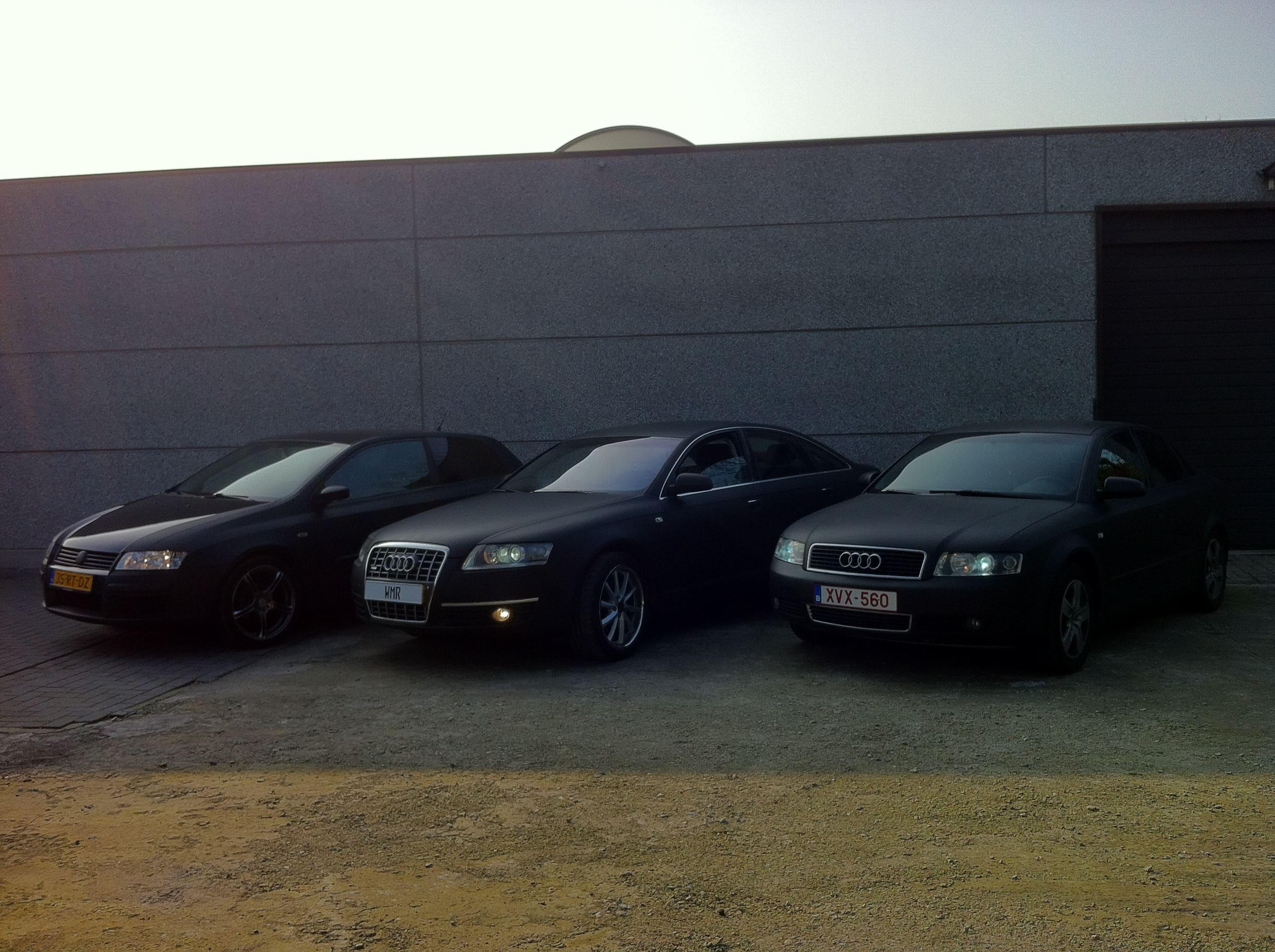 Audi A6 van Wit naar Mat Zwart, Carwrapping door Wrapmyride.nu Foto-nr:4838, ©2021