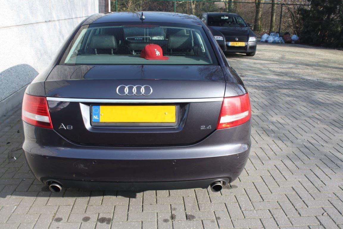 Audi A6 van Wit naar Mat Zwart, Carwrapping door Wrapmyride.nu Foto-nr:4844, ©2021