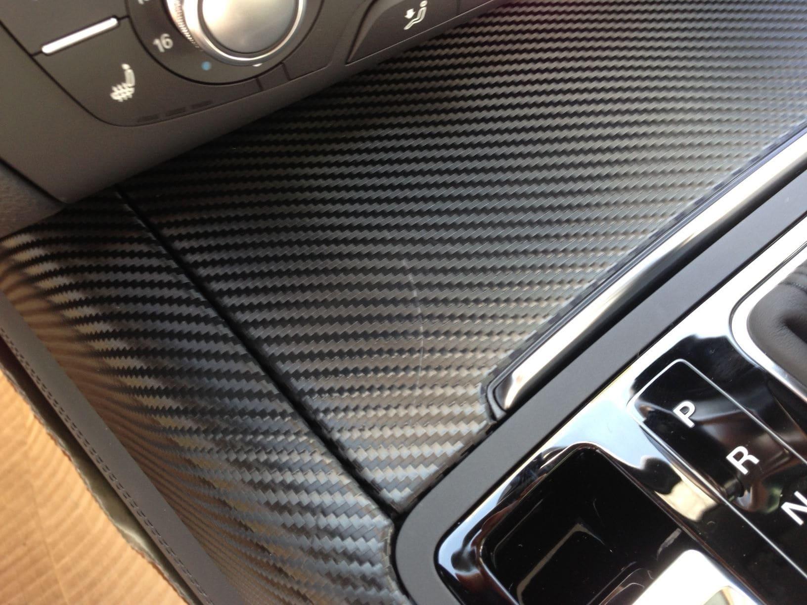 Audi A7 met Carbon Onderdelen, Carwrapping door Wrapmyride.nu Foto-nr:4895, ©2021