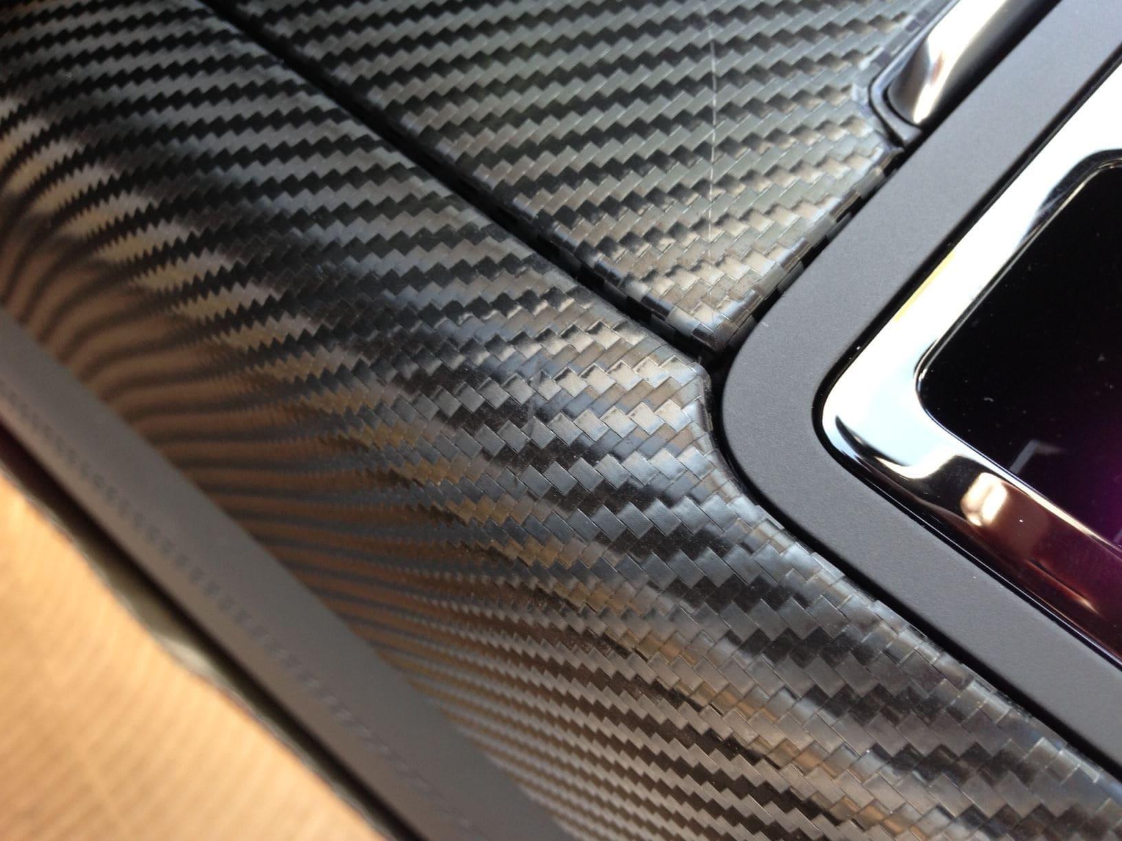Audi A7 met Carbon Onderdelen, Carwrapping door Wrapmyride.nu Foto-nr:4896, ©2021