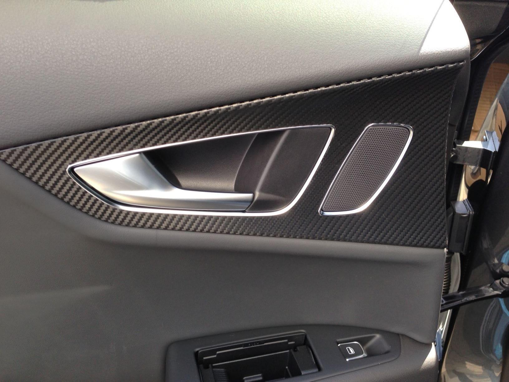 Audi A7 met Carbon Onderdelen, Carwrapping door Wrapmyride.nu Foto-nr:4898, ©2021