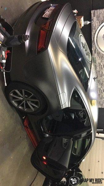 Audi A7 S-line Satin Dark Grey, Carwrapping door Wrapmyride.nu Foto-nr:10589, ©2018