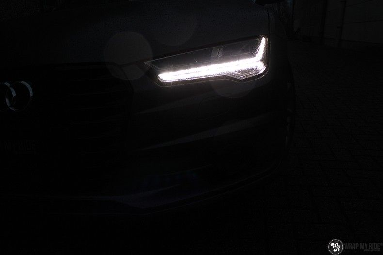 Audi A7 S-line Satin Dark Grey, Carwrapping door Wrapmyride.nu Foto-nr:10575, ©2018