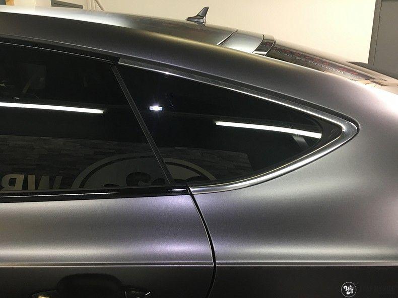 Audi A7 S-line Satin Dark Grey, Carwrapping door Wrapmyride.nu Foto-nr:10585, ©2018