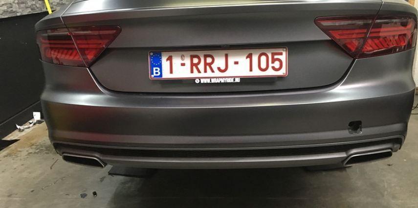 Audi A7 S-line Satin Dark Grey