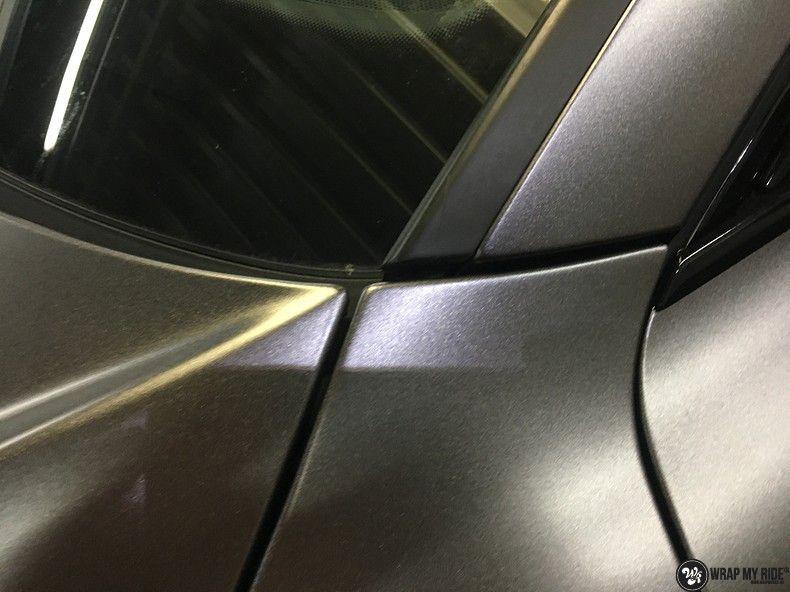 Audi A7 S-line Satin Dark Grey, Carwrapping door Wrapmyride.nu Foto-nr:10582, ©2018