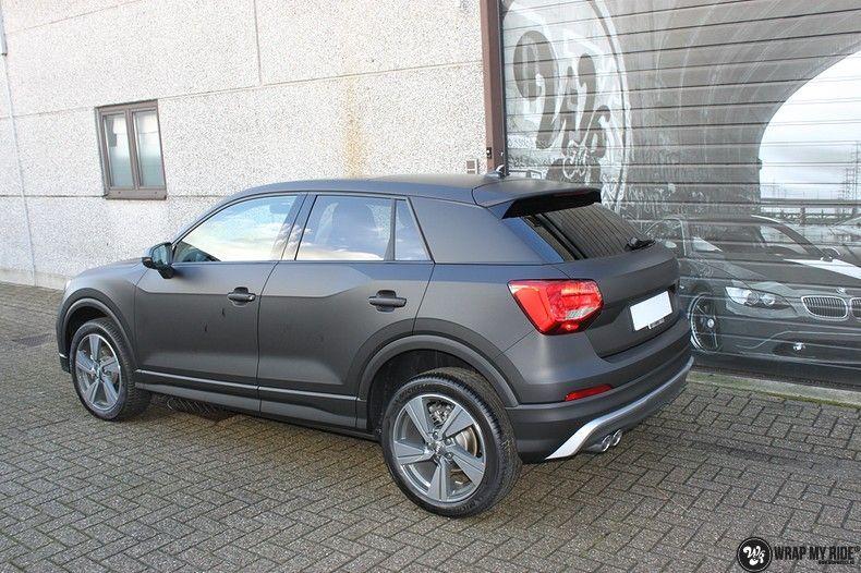 Audi Q2 Matte black, Carwrapping door Wrapmyride.nu Foto-nr:10607, ©2021