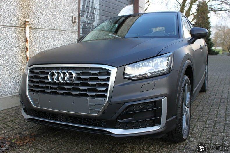 Audi Q2 Matte black, Carwrapping door Wrapmyride.nu Foto-nr:10604, ©2020