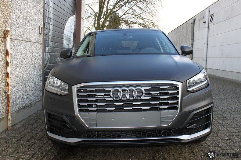 Audi Q2 Matte black, Carwrapping door Wrapmyride.nu Foto-nr:10603, ©2020