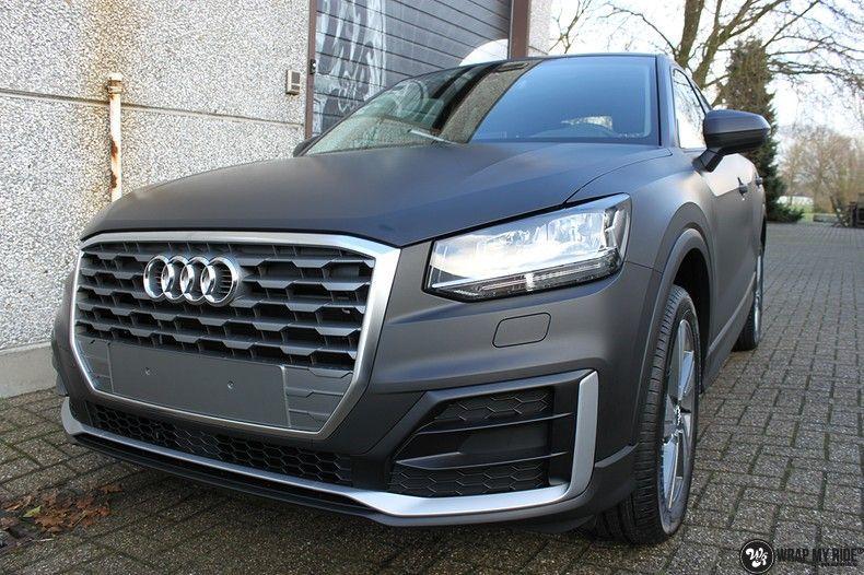 Audi Q2 Matte black, Carwrapping door Wrapmyride.nu Foto-nr:10602, ©2020