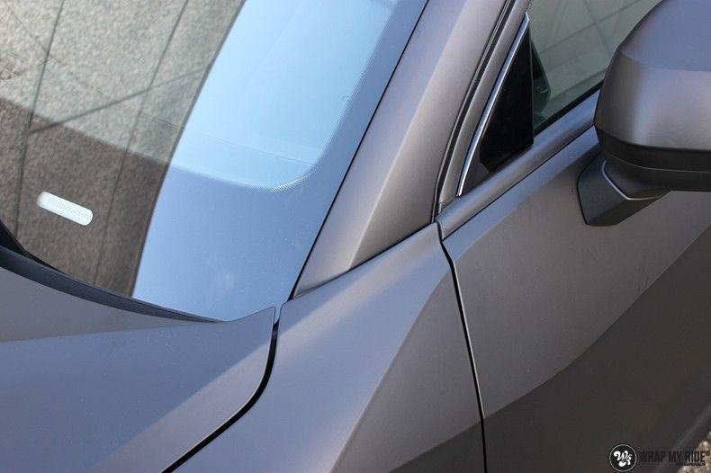 Audi Q2 Matte black, Carwrapping door Wrapmyride.nu Foto-nr:10601, ©2020