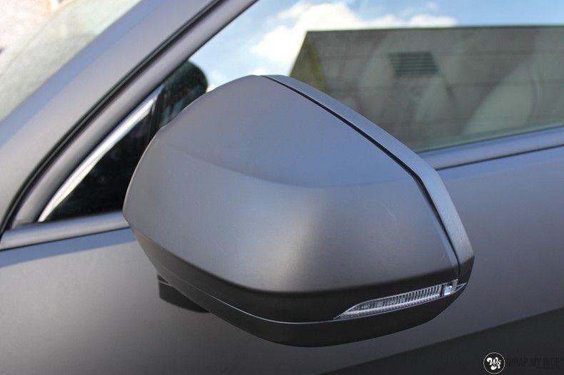 Audi Q2 Matte black, Carwrapping door Wrapmyride.nu Foto-nr:10600, ©2020