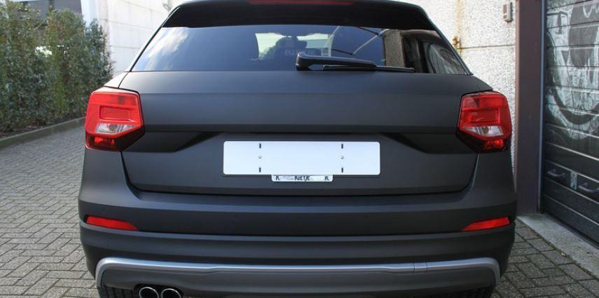 Audi Q2 Matte black