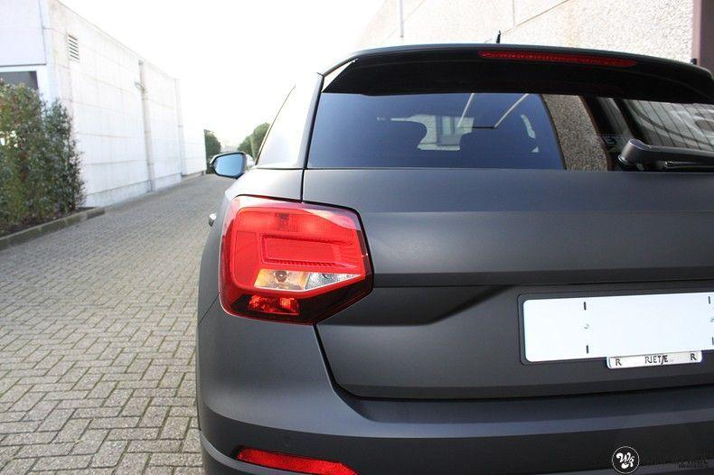 Audi Q2 Matte black, Carwrapping door Wrapmyride.nu Foto-nr:10598, ©2020