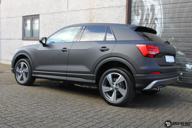 Audi Q2 Matte black, Carwrapping door Wrapmyride.nu Foto-nr:10596, ©2021