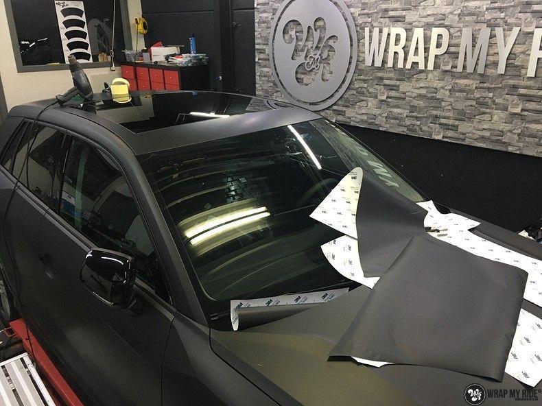 Audi Q2 Matte black, Carwrapping door Wrapmyride.nu Foto-nr:10612, ©2020