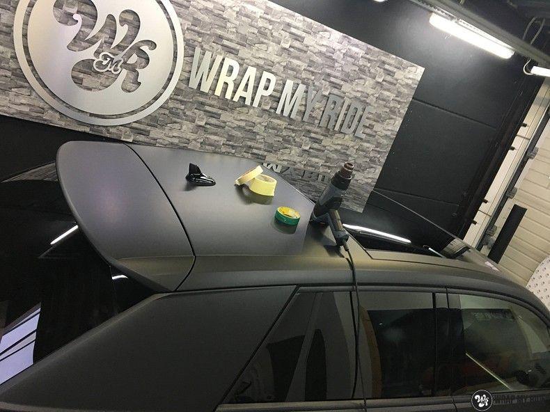 Audi Q2 Matte black, Carwrapping door Wrapmyride.nu Foto-nr:10613, ©2020