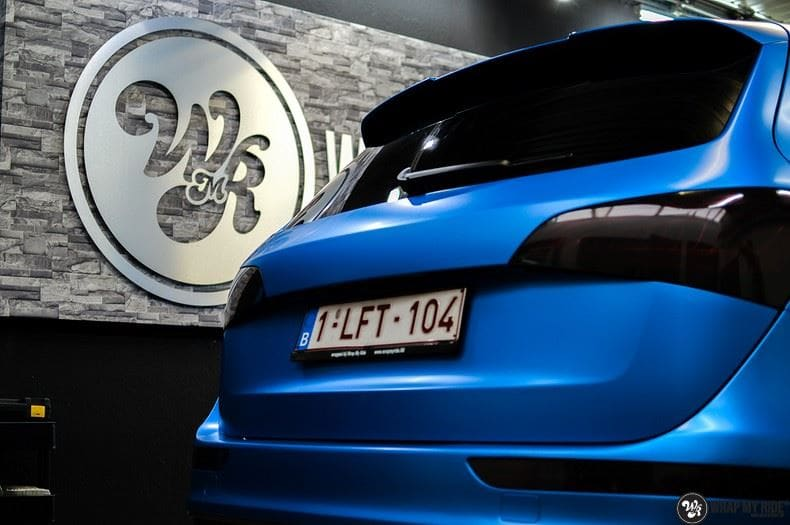 Audi Q5 Satin Perfect Bleu, Carwrapping door Wrapmyride.nu Foto-nr:9479, ©2019