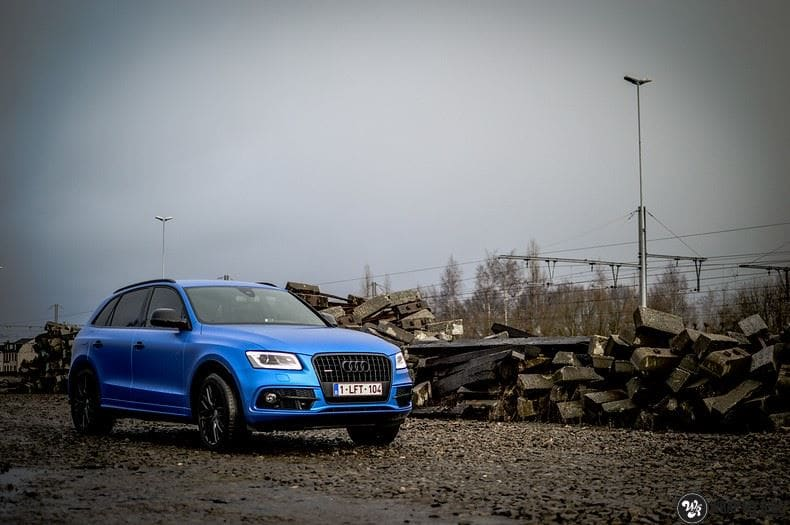 Audi Q5 Satin Perfect Bleu, Carwrapping door Wrapmyride.nu Foto-nr:9482, ©2020