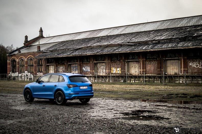 Audi Q5 Satin Perfect Bleu, Carwrapping door Wrapmyride.nu Foto-nr:9492, ©2019