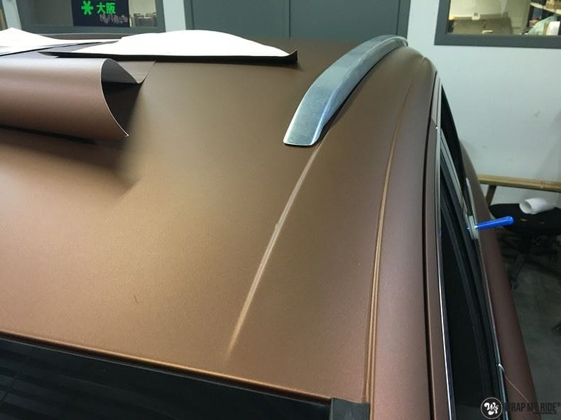 Audi Q7 Arlon Aztec Bronze, Carwrapping door Wrapmyride.nu Foto-nr:9403, ©2021