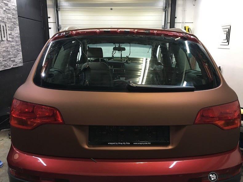 Audi Q7 Arlon Aztec Bronze, Carwrapping door Wrapmyride.nu Foto-nr:9397, ©2021