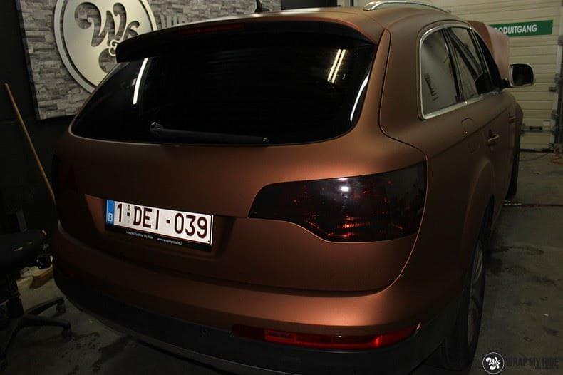 Audi Q7 Arlon Aztec Bronze, Carwrapping door Wrapmyride.nu Foto-nr:9395, ©2021