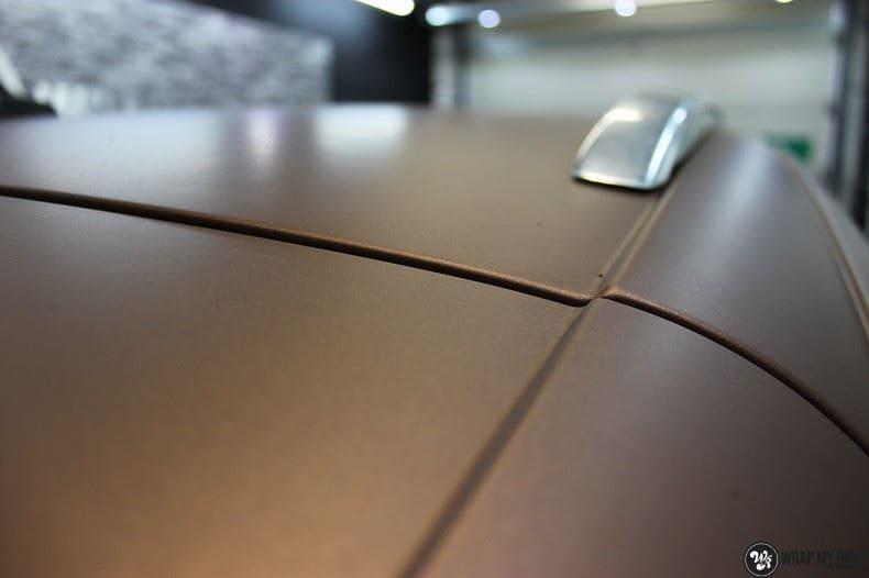 Audi Q7 Arlon Aztec Bronze, Carwrapping door Wrapmyride.nu Foto-nr:9390, ©2021