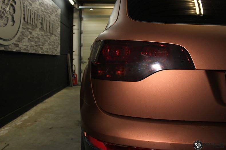 Audi Q7 Arlon Aztec Bronze, Carwrapping door Wrapmyride.nu Foto-nr:9389, ©2021