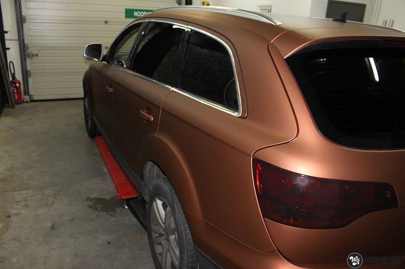 Audi Q7 Arlon Aztec Bronze, Carwrapping door Wrapmyride.nu Foto-nr:9387, ©2021