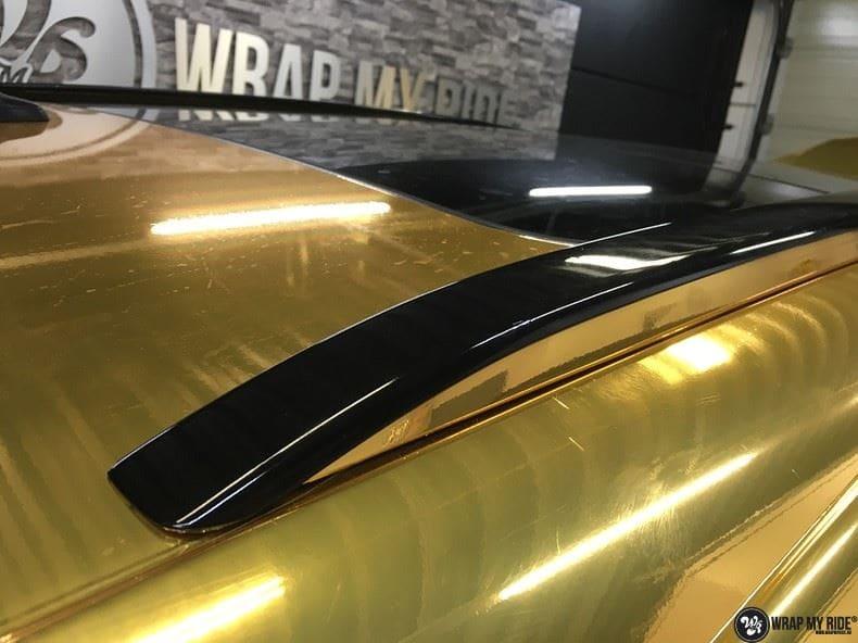 Audi Q7 Gold Chrome, Carwrapping door Wrapmyride.nu Foto-nr:8817, ©2018
