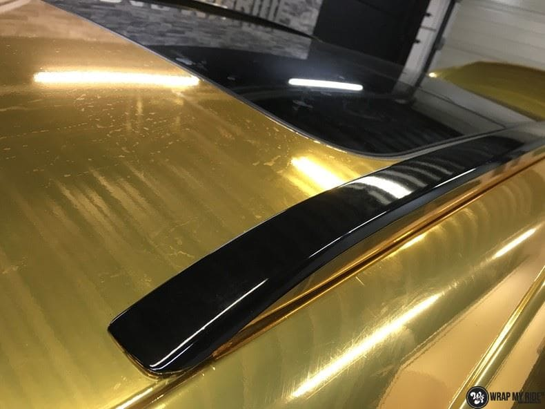 Audi Q7 Gold Chrome, Carwrapping door Wrapmyride.nu Foto-nr:8818, ©2020
