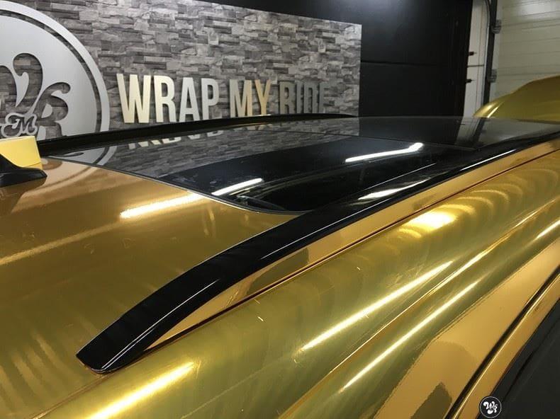 Audi Q7 Gold Chrome, Carwrapping door Wrapmyride.nu Foto-nr:8812, ©2018